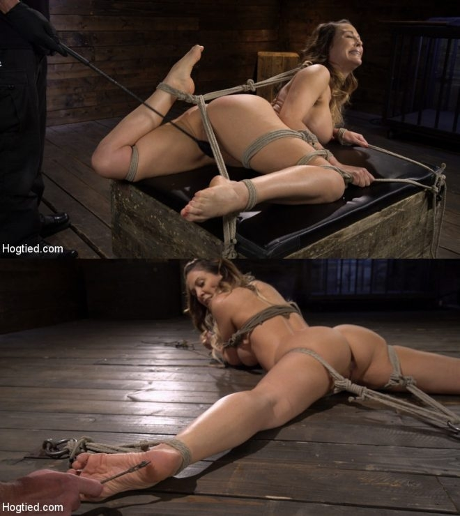 Cherie DeVille - Blond MILF Cherie DeVille in Grueling Bondage Made to Endure Torment (2019 | HD) (1.60 GB)