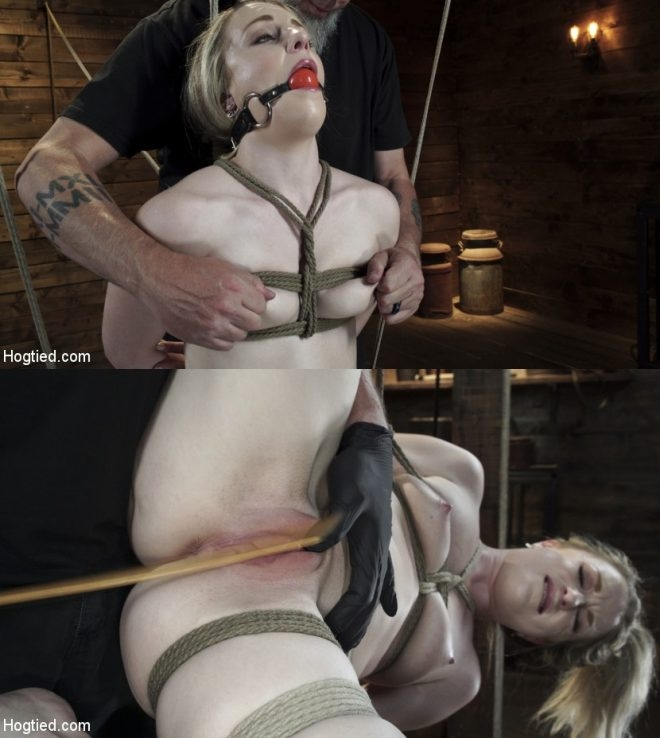 Kate Kennedy - Kate Kennedy is Brutalized in Extreme Bondage and Made to Cum (2019 | HD) (1.45 GB)