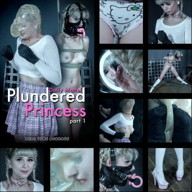 Dolly Mattel - Plundered Princess Part 1 - Dolly Mattel is put through an intense first scene. (2019 | HD) (3.03 GB)