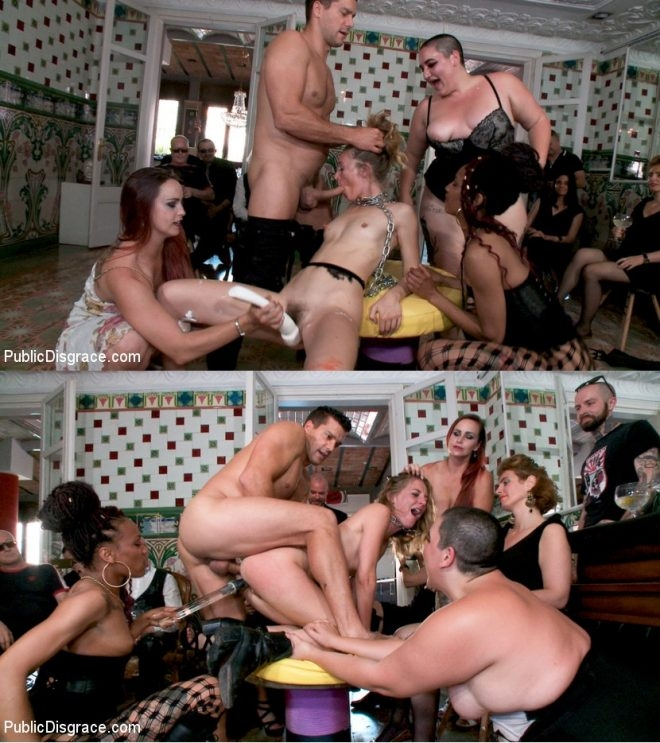 Ramon Nomar, Nikki Darling, Bella Rossi, Mimosa, Mona Wales - Fancy Party Interrupted To Tame The Feral Princess of Filth! (2019 | HD) (1.49 GB)