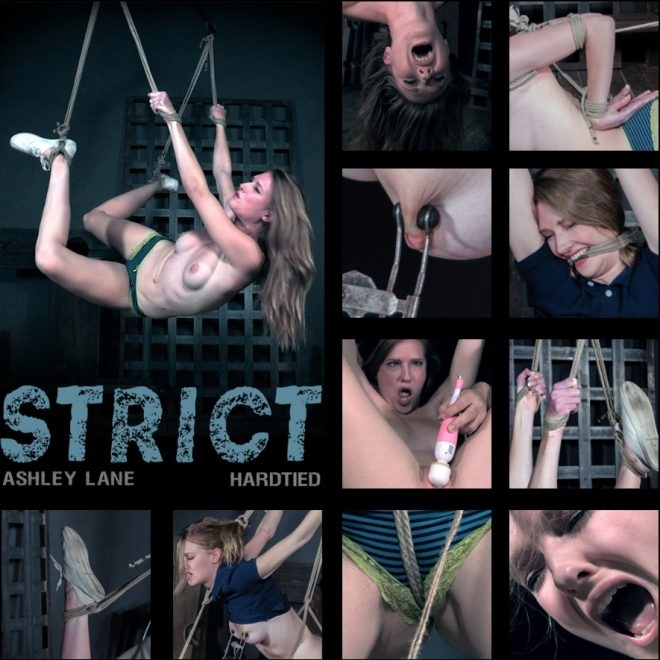 Ashley Lane - Strict - Ashely endures painful predicament bondage. (2019 | HD) (1.97 GB)