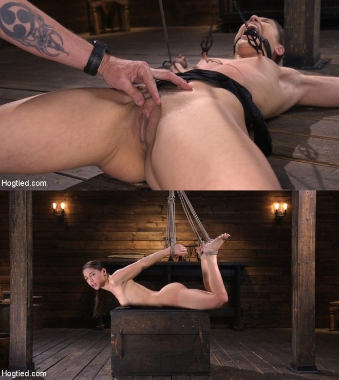 Abella Danger - Pain Slut Abella Danger Suffers in Grueling Predicament Bondage (2019 | HD) (1.52 GB)