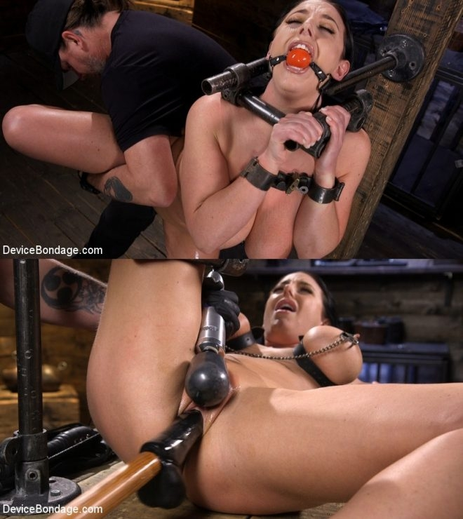Angela White - Angela White Begs to Suffer For Her Master in Metal Bondage (2019 | HD) (1.77 GB)