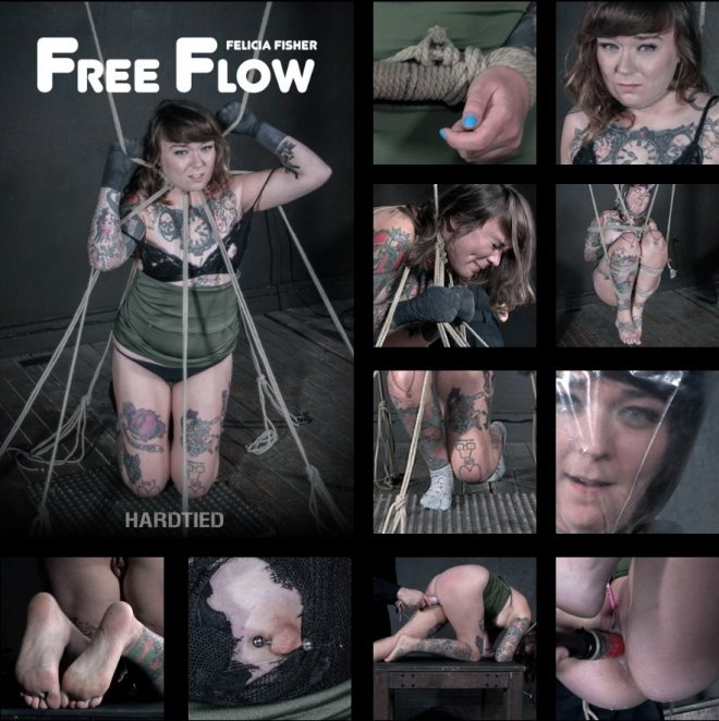 Felicia Fisher - Free Flow - Felicia flows from pain to pleasure freely. (2019 | HD) (2.12 GB)