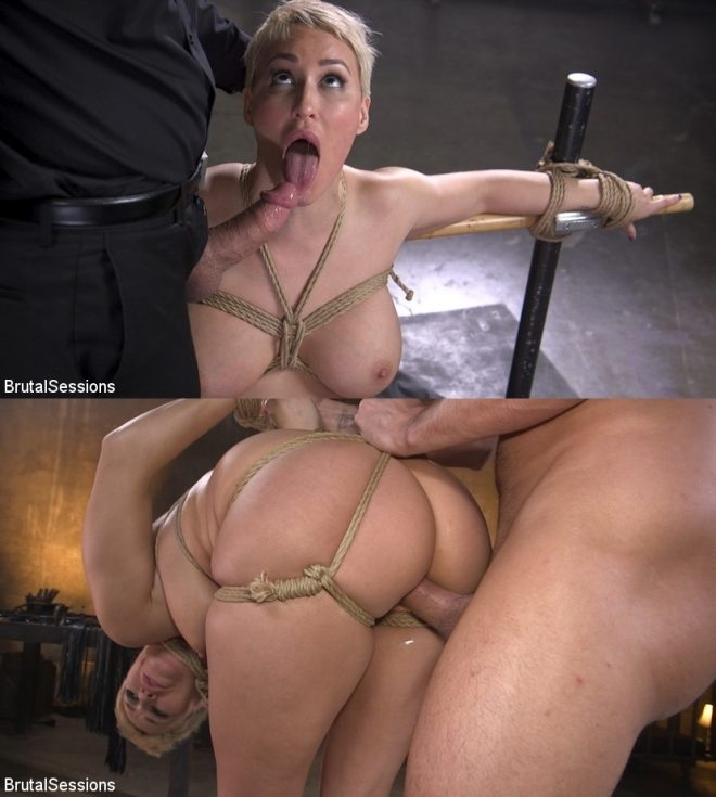 Stirling Cooper, Ryan Keely - Big Titted Goddess Ryan Keely Fucked, Disciplined in Rope Bondage (2019 | HD) (1.97 GB)