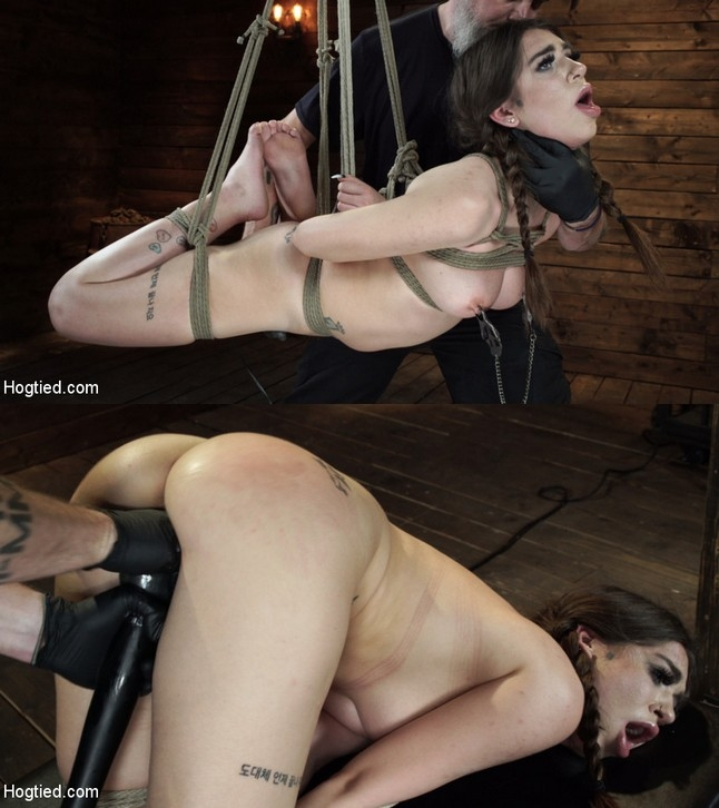 Joseline Kelly - Pain Slut Surrenders to Bondage and Domination (2019 | HD) (1.70 GB)