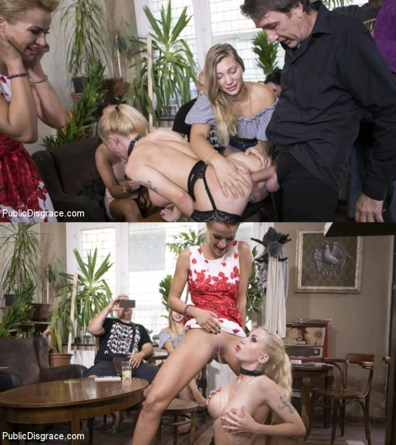 Steve Holmes, Cherry Kiss, Isabella Clark - Humiliated Whore Isabella Clark Disgraced and Anally Fucked in Public (2017 | HD) (1.55 GB)