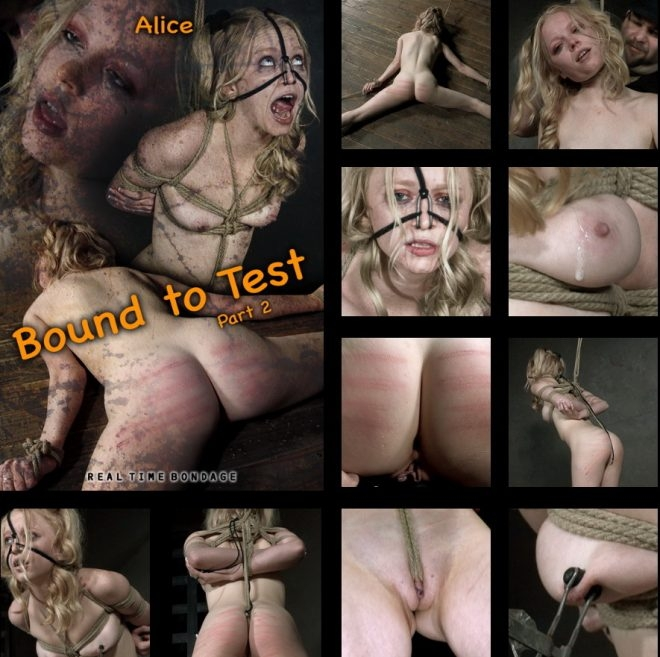 Alice - Bound to Test 2, The reddening of Alice's skin begins. (2019 | HD) (2.27 GB)