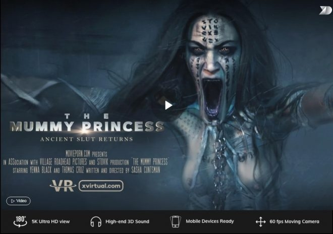 : The Mummy Princess in 180° X (2019 | UltraHD/2K) (1.72 GB)