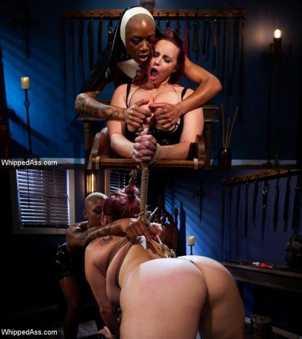 Aiden Starr Lesbian Bondage