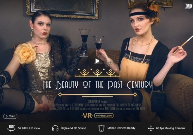 The beauty of the past century in 180° (X Virtual 23) (2019 | UltraHD/2K) (2.68 GB)