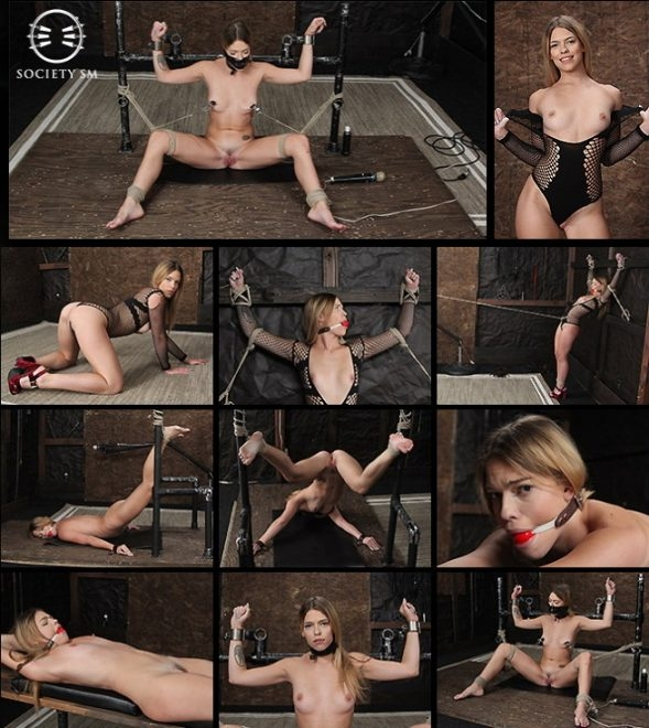 Dungeon Corp/SocietySM Leah Lea: Hot Bound Blond (2019 | SD) (1.01 GB)