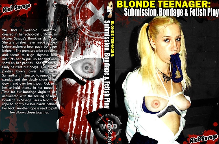 Blonde Teenager: Submission, Bondage & Fetish Play (2020 | SD) (515 MB)
