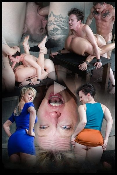 Bonnie Day & Dee Williams bound in a Sexually Broken Sixty Nine. Brutal face and pussy fucking (2020 | HD) (545 MB)