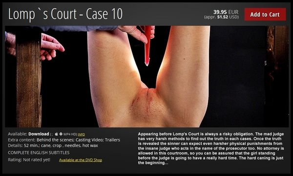 Lomp`s Court – Case 10 (2020 | FullHD) (1.69 GB)