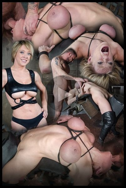 Dee Williams, our sexy resident Top, gets grabbed, severely bound, Brutally face fucked on a sybian (2020 | HD) (549 MB)