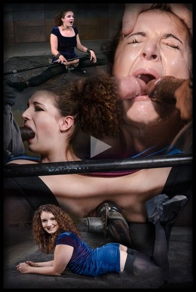 Curly haired newbie Endza bound into the splits and facefucked by BBC, drooling orgasms (2020 | HD) (1.10 GB)