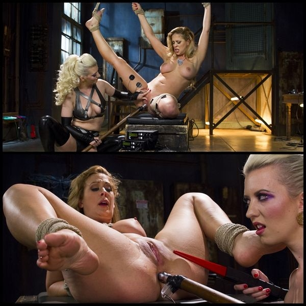 Cherry Torn vs. Cherie Deville: Latex Lesbian Electro Sex (2020 | HD) (2.14 GB)