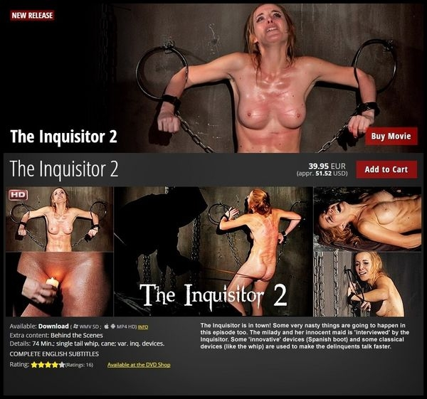 The Inquisitor 2 – BDSM, Spanking (2020 | HD) (2.20 GB)