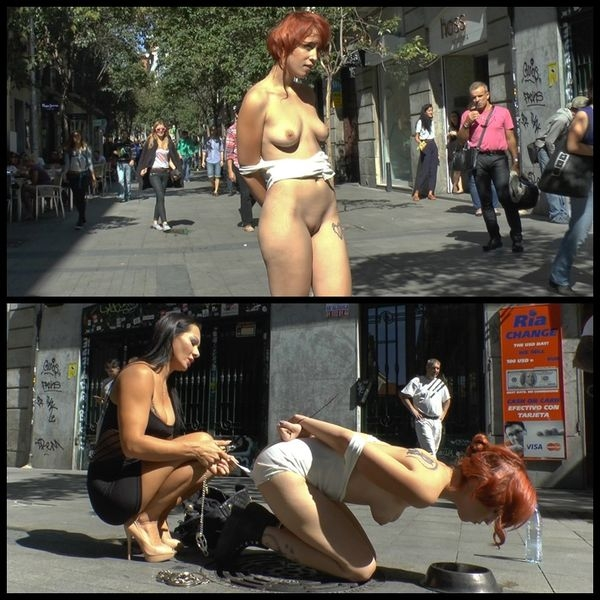 Spanish redheaded floozy beautifully humiliated in Madrid (2020 | HD) (2.42 GB)