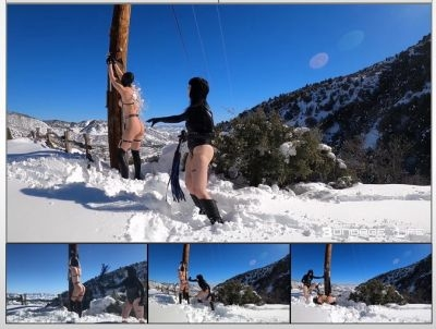 Rachel Greyhound, Lita Lecherous - Winter Wonderland Flogging (2020 | HD) (320 MB)