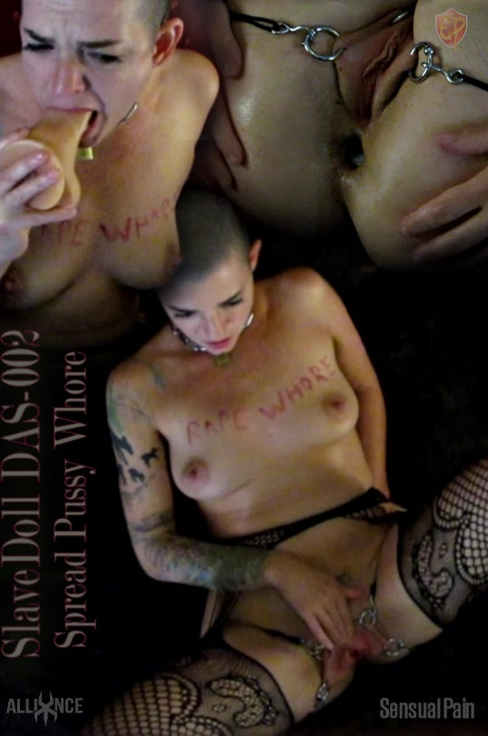 SensualPain – May 6, 2020 – SlaveDoll DAS-002 Spread Pussy Whore | Abigail Dupree (2020 | HD) (1.24 GB)